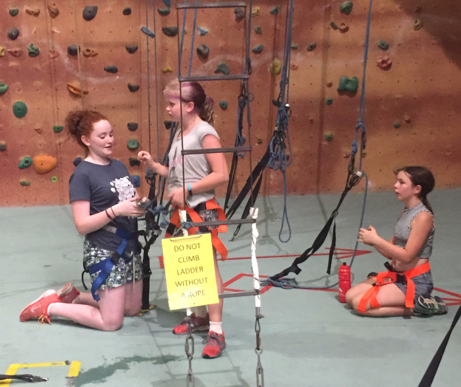 Rockclimbing at Active Arts_small groups
